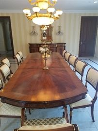 formal dining room set asking 3200