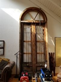 Tall Imported Antique Doors