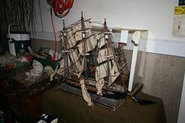 Ship models.