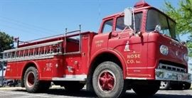 1958 Ford 800 Series Young Pumper Fire Engine from ...