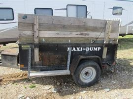 Maxi-Dump Trailer - VIN #1M9UD1210XJ11245