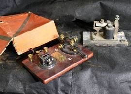 RARE ANTIQUE MORISE CODE WIRELESS SIGNAL R 68 PRAC ...