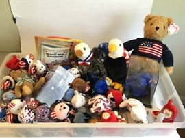 American Patriot Beanie Babies  http://www.ctonlineauctions.com/detail.asp?id=715095