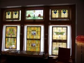 Great collection of stained glass windows