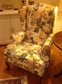 Wingback Chair $ 100.00