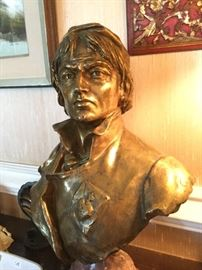 "Bronze bust approx 22"" very heavy"