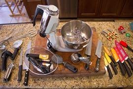 Amazing Wood Chopping Block and Kitchen Gadgets!