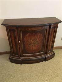 Handpainted Drexel cabinet