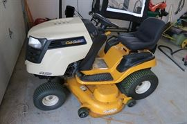 Cub Cadet 50 inch lawn tractor 284 hours comes with grass catcher and thatcher attachments