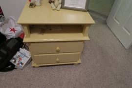 Stickley bed side table yellow