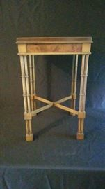 Baker Furniture Hollywood Regency Table     https://ctbids.com/#!/description/share/18120