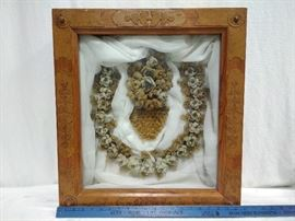 Decoration in Wooden Shadow Box Frame https://ctbids.com/#!/description/share/22347