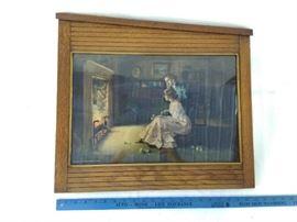 Framed Vintage Print (1909)   https://ctbids.com/#!/description/share/22339