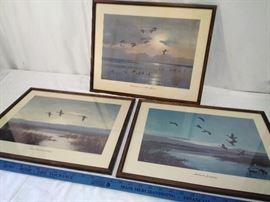 3 Peter Scott Bird Prints (1952)    https://ctbids.com/#!/description/share/22325