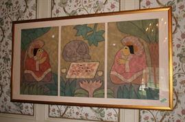 3 Piece Framed Art