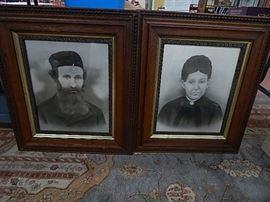 Pr. Large Ancestorial Portraits