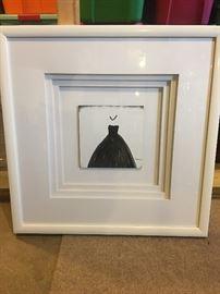 little black dress print