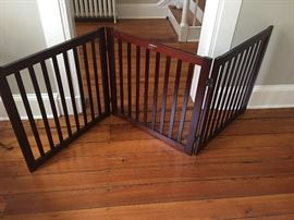 large, attractive pet gate
