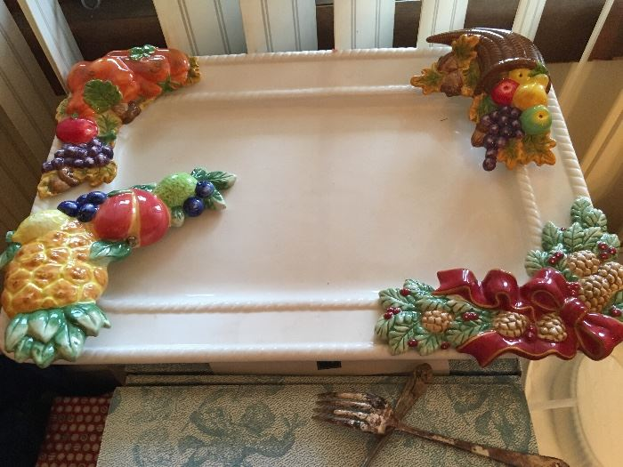Holiday platter