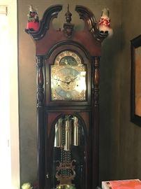 Gorgeous Howard Miller grandfather clock