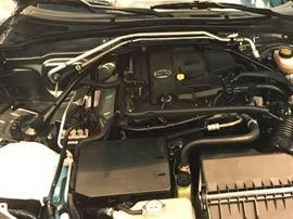 Engine view of Mazda Miata MX5