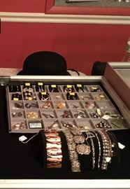 Much more jewelry than pictured