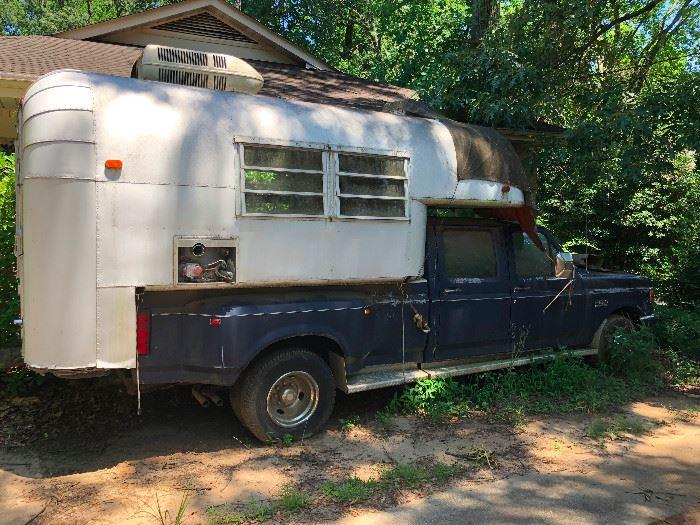 1960 Vintage Avion Camper for Sale. Ford Truck is NOT for sale