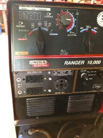 Lincoln Electric Ranger Welder !0,000 w/gas