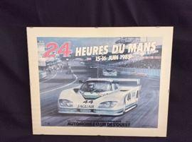 24 Hours Le Mans Poster.