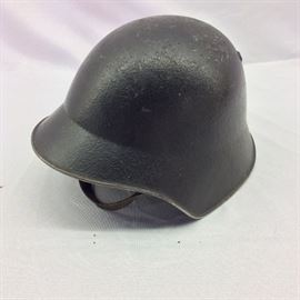 Vintage Swiss Armed Forces Helmet.