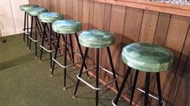 Vintage Bar Stools Excellent Condition