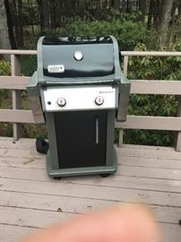 Weber spirit grill nice compact size