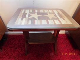 Hand made small table.