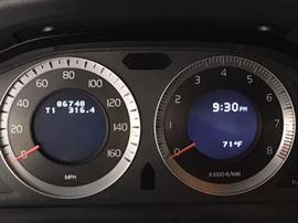 Mileage for Volvo