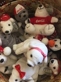 Coca Cola Beanie Bears