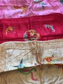 Chinese embroidered shams