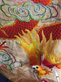 Phoenix and Dragon Duvet
