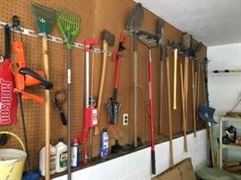 Garden Tools/Hand Tools/and More galore.  If you need it, we have it!