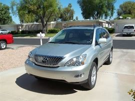 2008 Lexus RX5 - 82,300 miles, fully loaded, leather, 6 disc cd changer, tires like new, 1 owner. $12,000 or best offer.