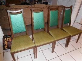 Awesome set of Mid Century chairs