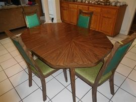 Original Mid Century formica table & chairs