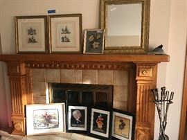 Framed art - vintage, shabby chic and contemporary