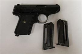 Jennings .25 cal. semi automatic pistol