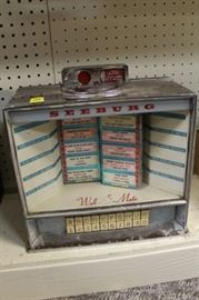 Juke box and related items