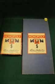 vintage monopoly games