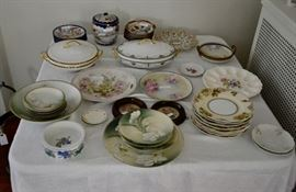 Various China Including Nippon, Bavarian, Old Ivory Silesia, R. S. Germany