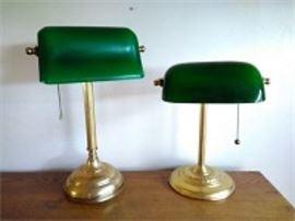 Banker's Lamps