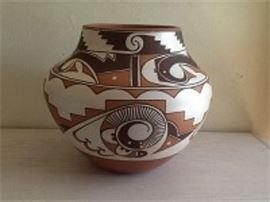 Gladys Paquin Laguna Pueblo Water Jar