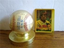 Signed Rod Carew Signed Baseball
