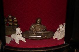 Inkwells and Figurines